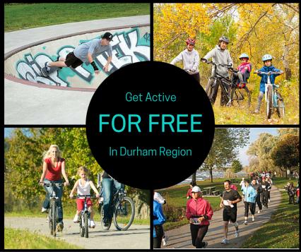 Get Active For Free In Durham Region