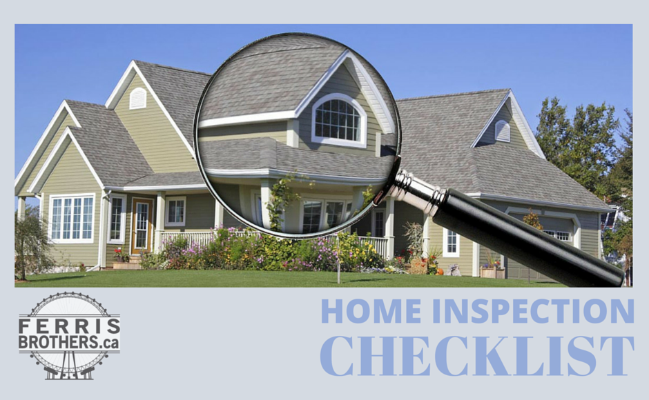 Home inspection checklist a complete look at buying a for Home inspection tips