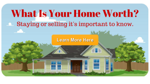 What Is Your Home Worth?  Staying or selling it's important to know.