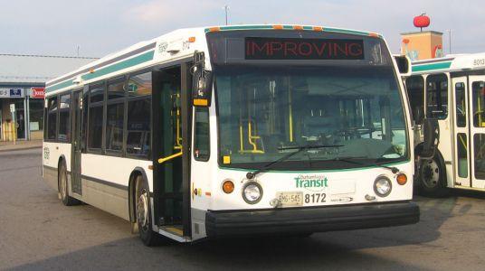 Durham Region Transit Improving