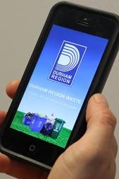 durham region waste app