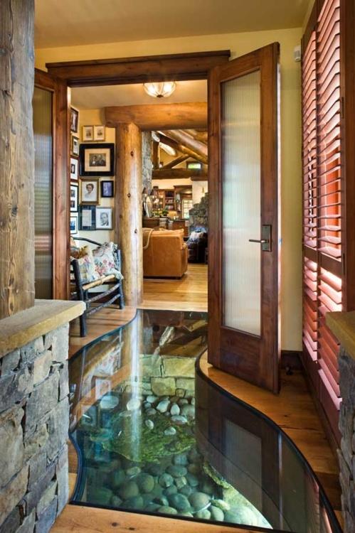 indoor creek