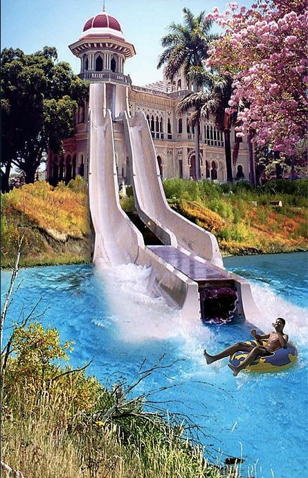 slide to my pool