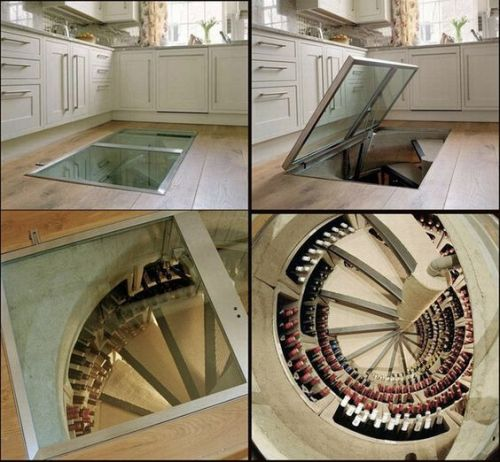 wine cellar under my kitchen